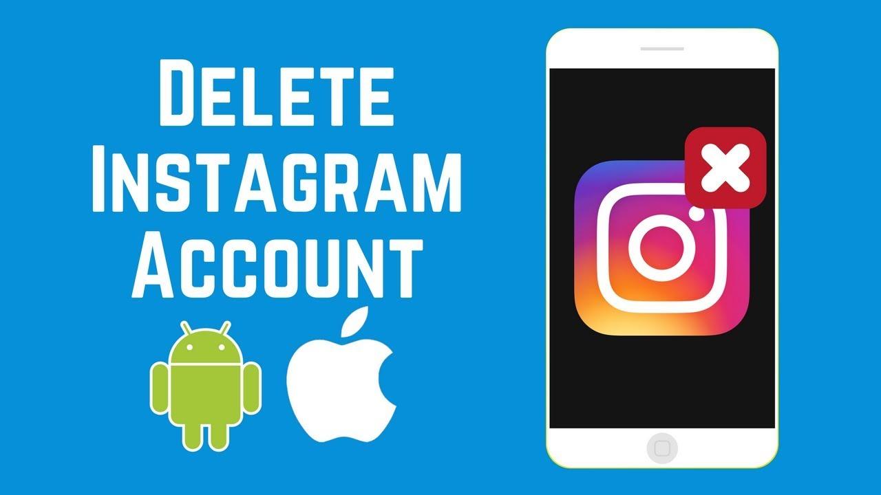 How to delete my instagram account